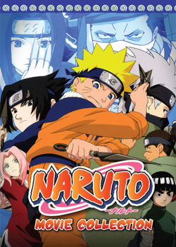 Naruto Movies Collection 1-4 (4 discs)