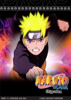 Naruto Shippudden TV Part 11 (3 discs)