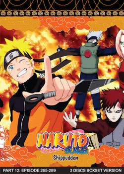 Naruto Shippudden TV Part 12 (3 discs)