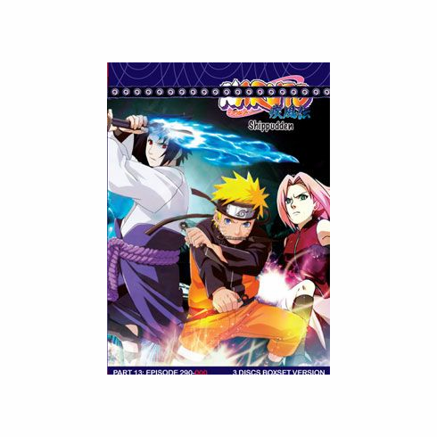 Naruto Shippudden TV Part 13 (3 discs)