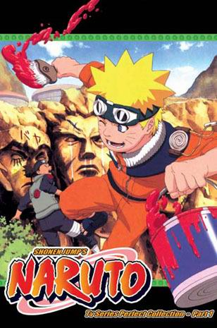 Naruto TV Part 1 (3 discs)