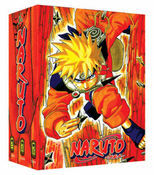 Naruto TV Part 1-3 Limited Edition (9 discs)