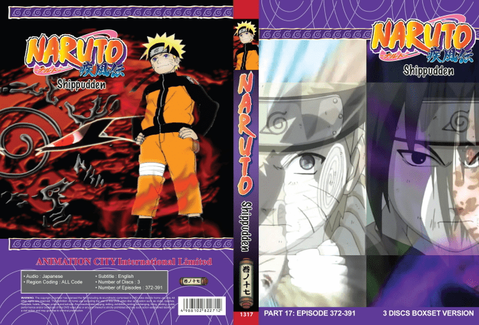 Naruto TV Part 17 (episodes 372-391)