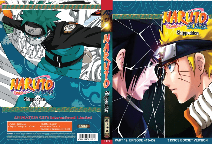 Naruto TV Part 19 (episodes 413-432)