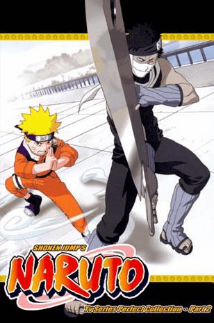 Naruto TV Part 2 (3 discs)