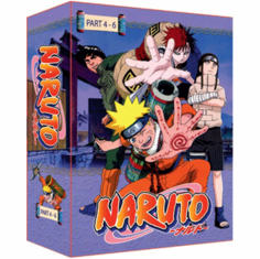 Naruto TV Part 4-6 Limited Edition (9 discs)