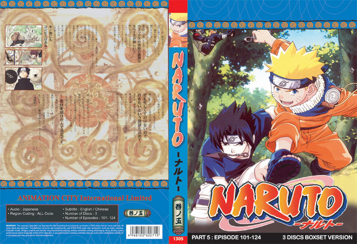 Naruto TV Part 5 (3 discs)