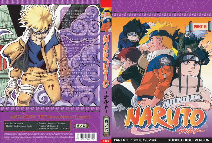 Naruto TV Part 6 (3 discs)