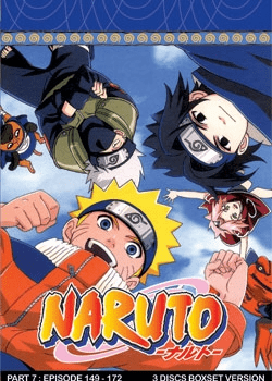 Naruto TV Part 7 (3 discs)