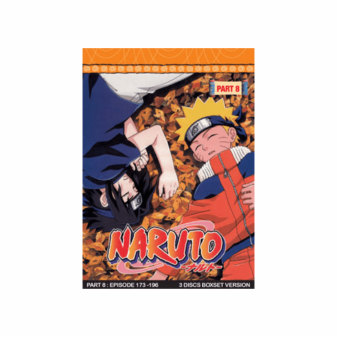 Naruto TV Part 8 (3 discs)