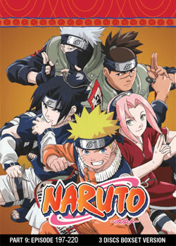 Naruto TV Part 9 (3 discs)