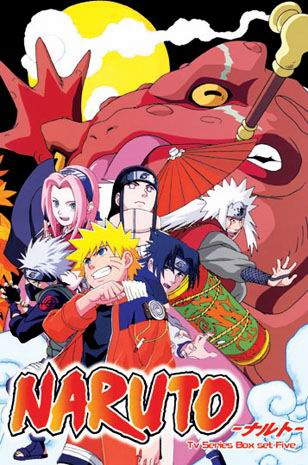 Naruto ~ Tv Series Box Set Part 5 Episodes :   133-164