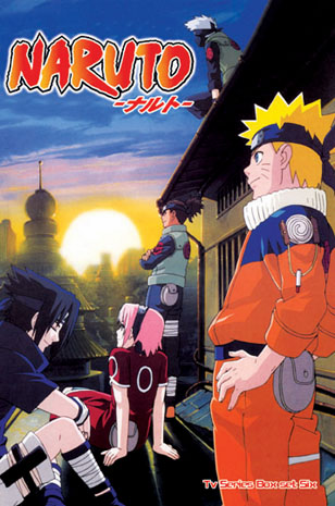 Naruto ~ Tv Series Box Set Part 6 Episodes 165-192