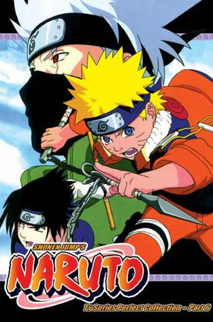 Naruto ~ Tv Series Perfect Collection - Part 6 English Dubbed