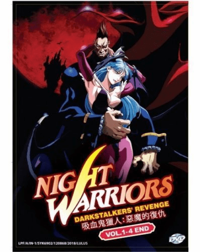 Night Warriors Darkstalke​rs' Revenge (Vol.1-4 End) (English Dubbed)