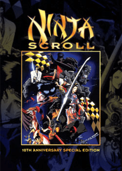 Ninja Scroll 10th Ann. Movie (1 disc)