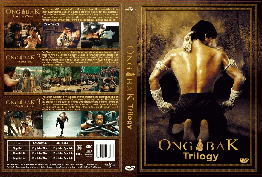 Ong-Bak Trilogy Movie 1,2 ,3 English Dubbed