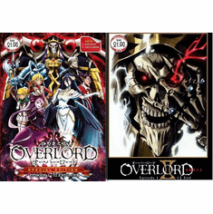 OVERLORD Season 1+2 Complete Series (1-26 End) Special Edition (Season 2 japanese audio)