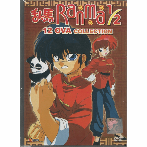 Ranma 1/2 Complete 12 OVA Collection Anime DVD ENGLISH AUDIO_DCA