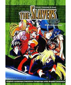 Slayers Try (3 discs)