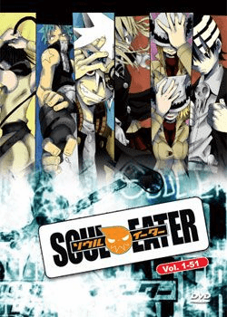 Soul Eater TV (3 discs) English Dubbed 1=51