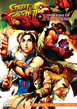 Street Fighter II + 2 Movie (2 discs)