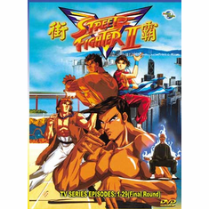 Street Fighter II V ~ Tv Series - The Perfect Collection