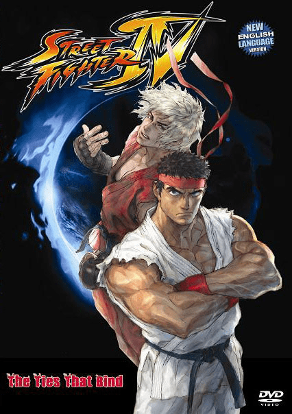 Street Fighter IV The ties that Bind (1 disc)