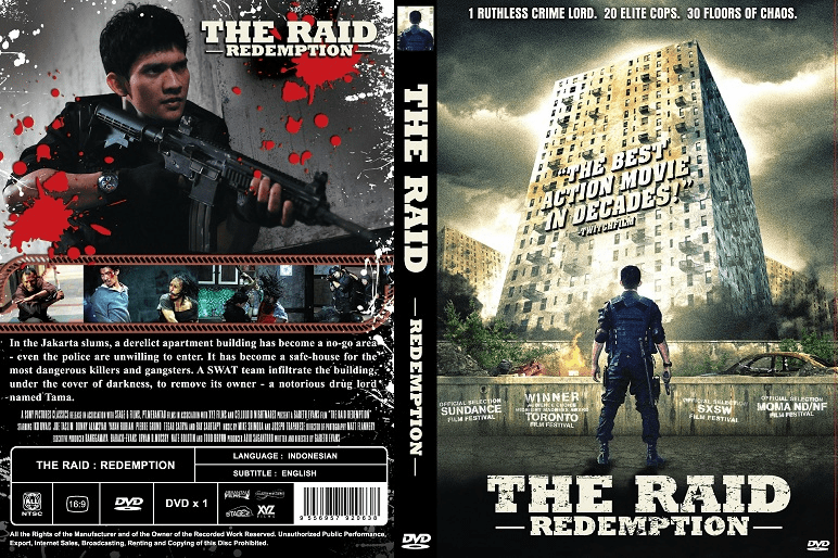 The Raid:  Redemption (subs) w/foil insert
