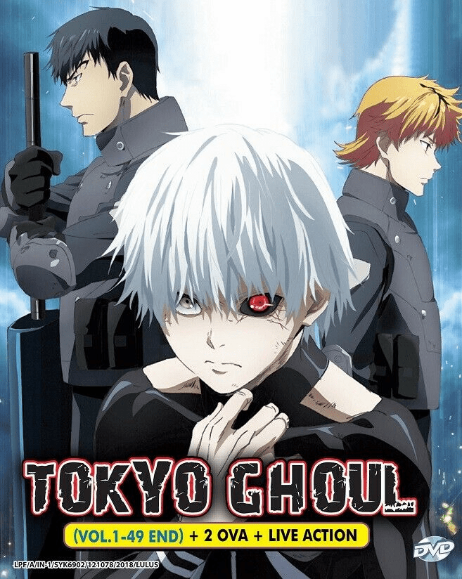 Tokyo Ghoul Complete Boxset (Sea.1-3+RE 2nd Season (1-49) + 2 OVA +Live Action Movie