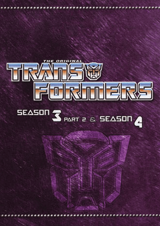 Transformers ~ Season 3 Part 2 & Season 4 ~ The Perfect Collection