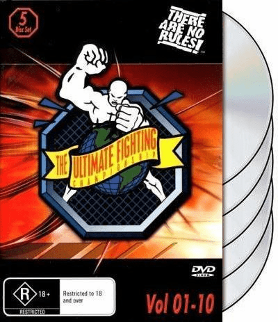 UFC 1-10 DVD box set 1 2 3 4 5 6 7 8 9 10 Ultimate Fighting Championship Vol 1-10
