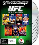 UFC 31-37 DVD COLLECTION NEW 32 33 34 35 36 37 MMA BOX SET