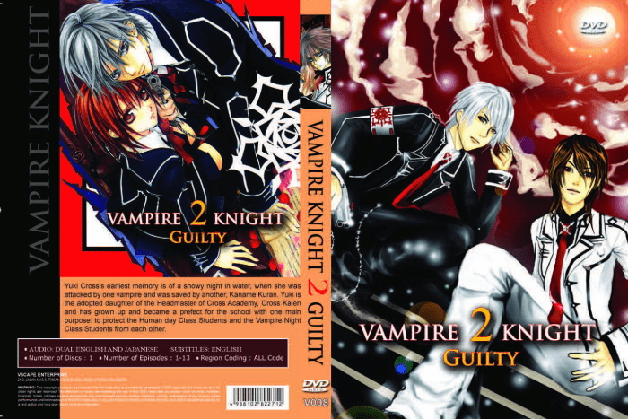 Vampire Knight Guilty English Dubbed (episodes 1-13)