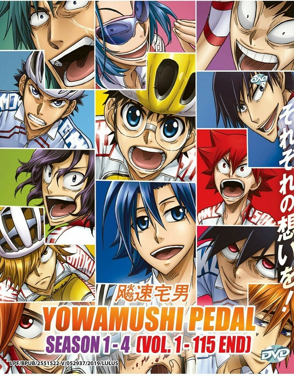 Yowamushi Pedal ���լ�� ( Vol. 1 - 39 End ) English SUB