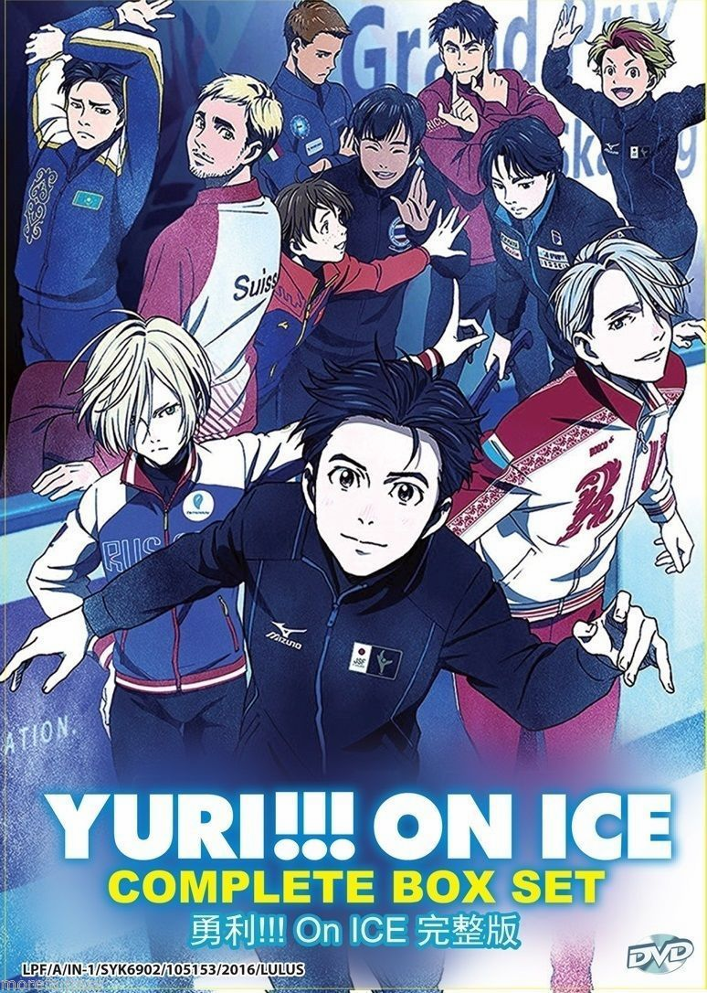 YURI ON ICE ( VOL. 1-12 END) complete box set (English Dubbed)