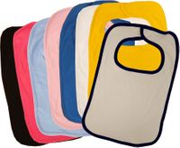 100% Cotton Interlock 2-Ply Bibs