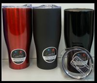 30 oz. Cantini Double Wall Insulated Stainless Steel Tumbler