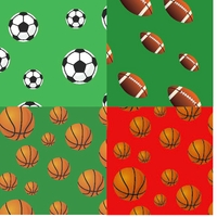 Clearance Priced - Sports - QuickStitch Embroidery Paper