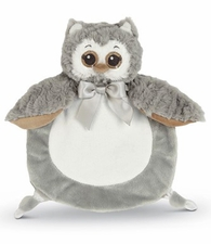 Bearington Wee Snuggler - Owlie - Gray