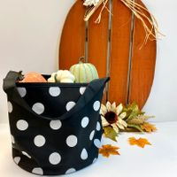 Bucket Totes for Halloween