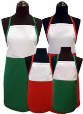 Christmas Two-Toned Aprons
