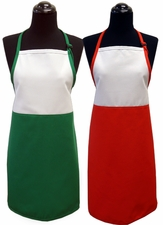 Christmas Two-Toned Aprons - Adult