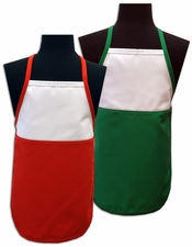 Christmas Two-Toned Aprons - Child