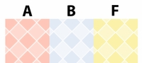 Clearance Priced - Pastel Diamonds - QuickStitch Embroidery Paper