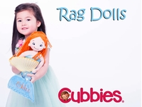 Cubbies - Rag Dolls - Only $12.75 each