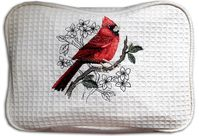 Cardinal Two Compartment Cosmetic Bag