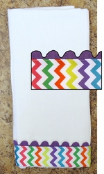 Decorative Burp Cloth - Chevron