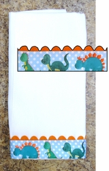 Decorative Burp Cloth - Dinos