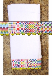 Decorative Burp Cloth - Pattern 2